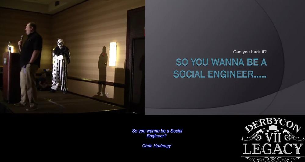 So you wanna be a Social Engineer